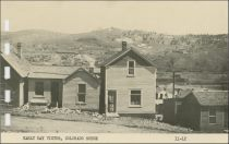 Early Day Victor, Colorado Scene [error, it is Really a Scene in Cripple Creek, Looking East at Gold Hill]