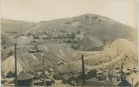Mary McKinney Mine & Anaconda in foreground, with Guyot Hill in the Background with More Mines.
