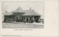 Union Depot, Victor, Colo.