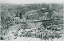Anaconda Scene Showing Main Street & F. & C.C. Trackage | Anaconda 1908