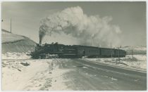 Midland Terminal Engine #59 and Train Final Run 1949 Between Divide & Midland