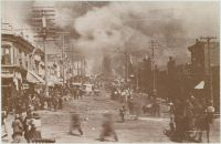 "CRIPPLE CREEK, COLORADO - 1896, ""The Big Fire"""