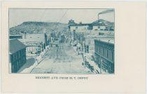 Bennett Ave. From M.T. Depot