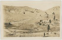 Looking Up Arequa Valley/Gulch Towards Saddle Between Guyot & Beacon Hills in 1918