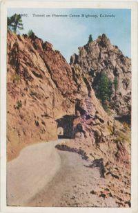 Tunnel on Phantom Canon Highway, Colorado