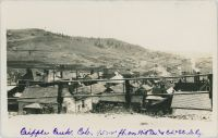 Cripple Creek, Colo. 9500 Ft., on M.T. and C.S. & C.C.D. Ry. [Looking From North Towards Short Line Yard]