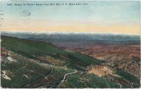 Sangre de Christo Range from Bull Hill, C. C. Short Line, Colo.