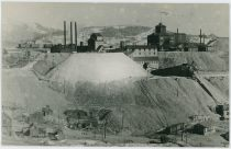 A View at the Vindicator and Lillie Mines on Bull Hill, with the M.T. Independence Depot in Foreground Right