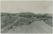 A View Along the Former Roadbed of the F. & C.C. Into the Town of Cripple Creek