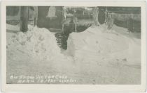 Big Snow Victor Colo April 15, 1921