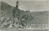 A Steam Shovel at Work at an Unknown Location, Said to Be in the Cripple Creek District