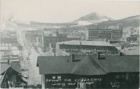 Bennett Ave. Cripple Creek Looking West From Depot