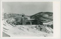 Elkton Mine View During Winter, Seen From Northwest