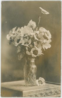 Flowers in Vase on a Table, Possible in Lehr Residence [3]
