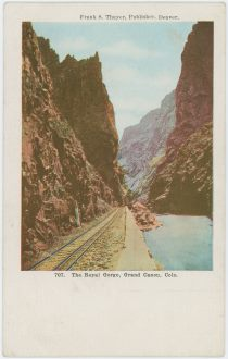 The Royal Gorge, Grand Canon, Colo.